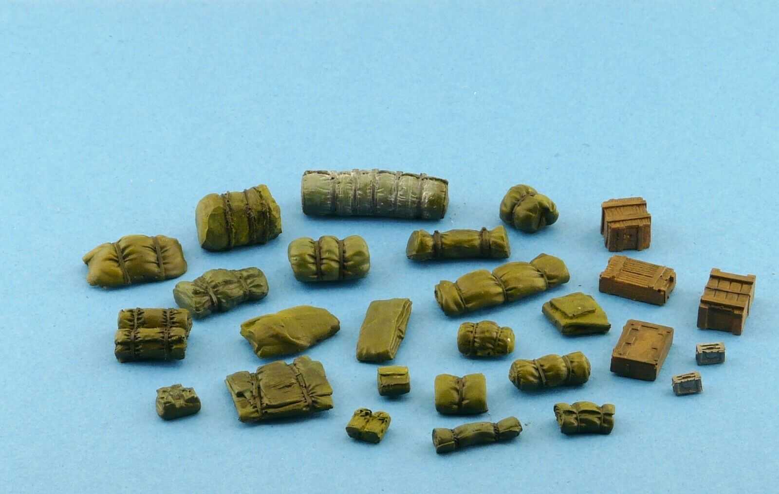 1/48 Military Scale Modelling Resin Stowage  Diorama Accessories  Kit 3 - redoguk