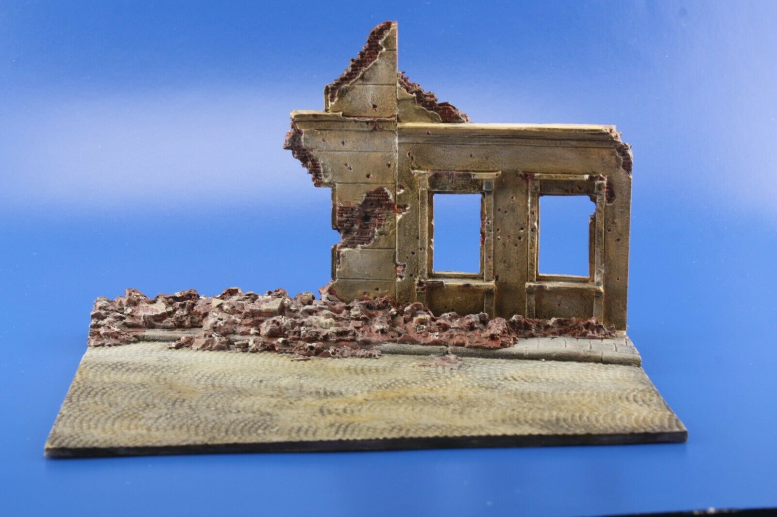 1/72 Ruins Diorama Diorama Display Base for Military Scale Model Tanks & Vehicles D8 - redoguk