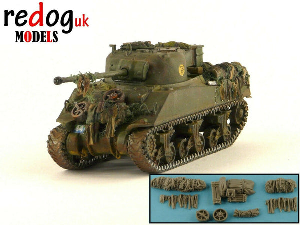 1/72/76 M4 Sherman Firefly MKV Tank Military Scale Model Stowage Kit Accessories S5 - redoguk