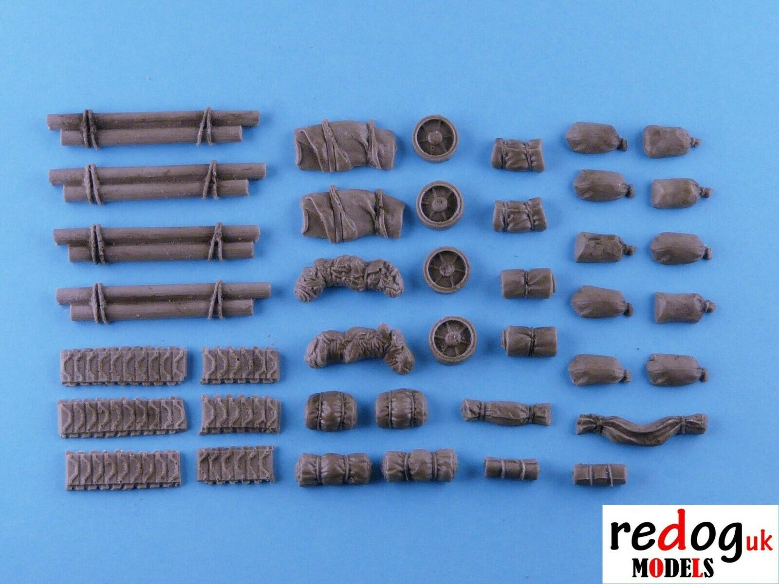 28mm Sherman Tanks Stowage WW2 Bolt Action/Tank War Games - redoguk