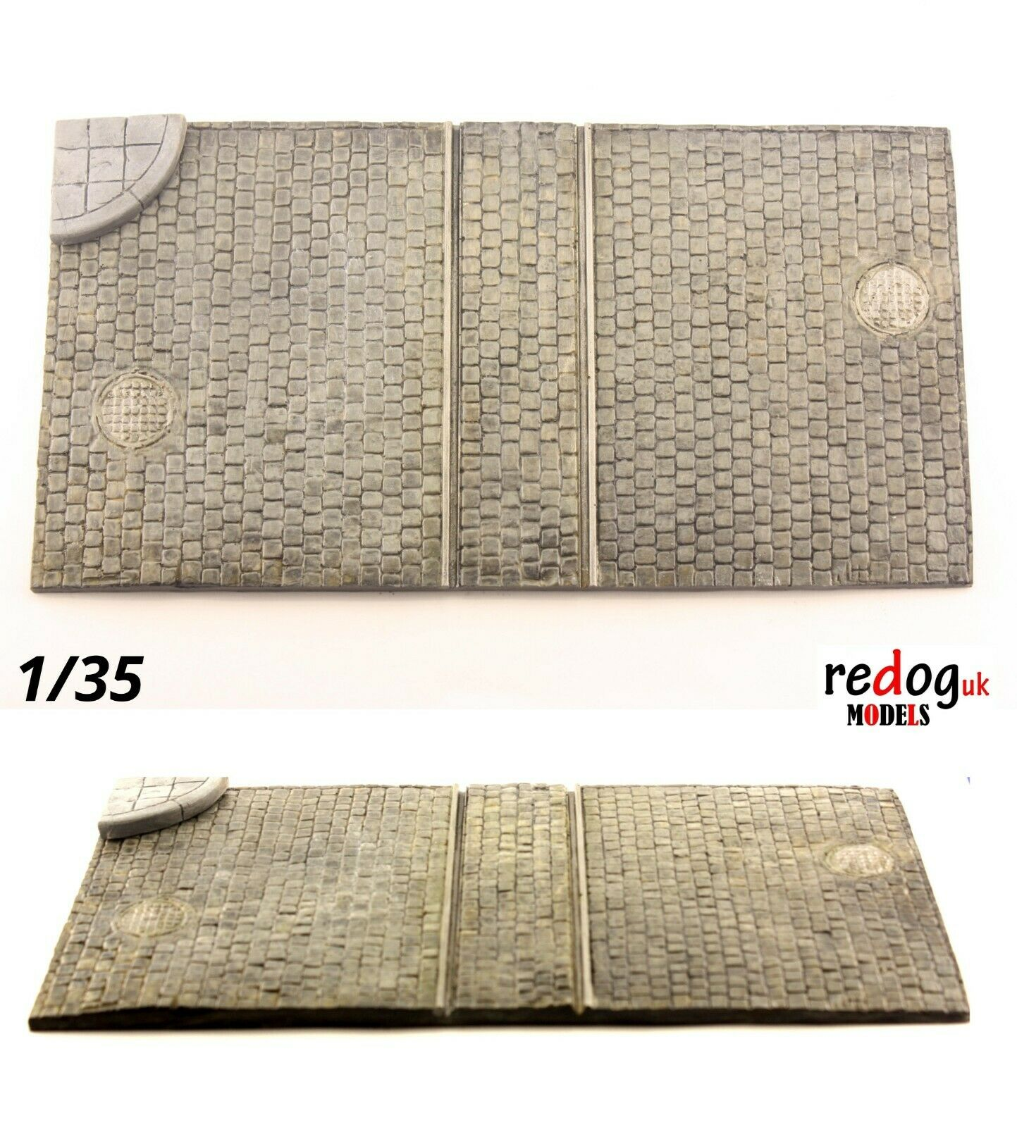 Redog 1/35 Military Scale Model Vehicle & Tank Display Dioram Base Large - U2 - redoguk