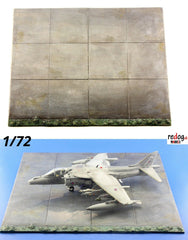 1/72  Carrier Deck Modern Scale Model Airplane Display Base /D29 - redoguk