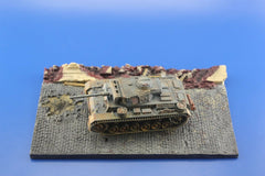 1/72 Display Base Small Diorama For Military Scale Model Vehicles D12 - redoguk