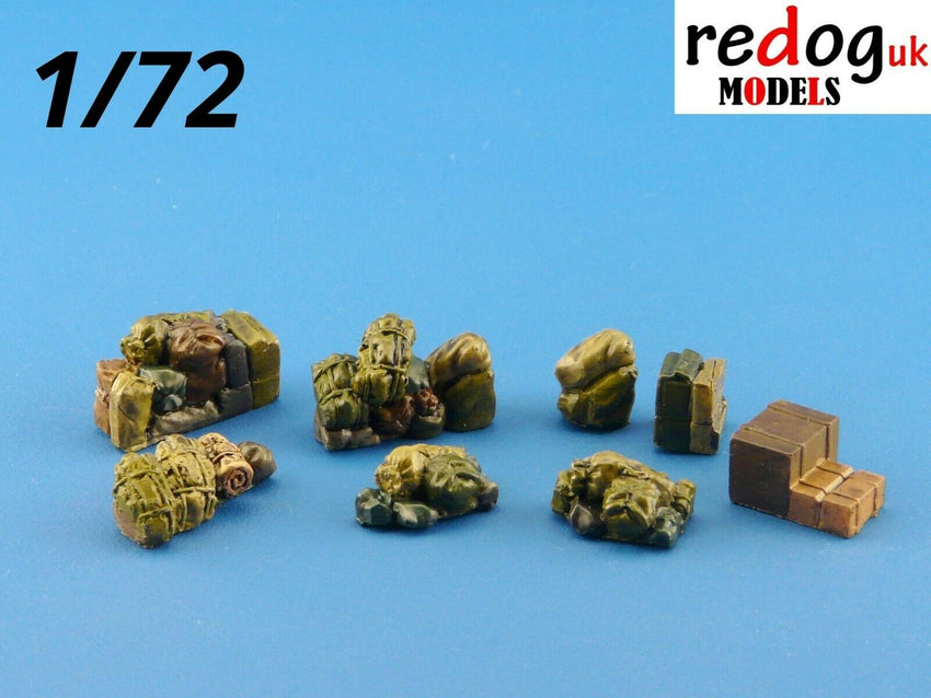 1:72 or 1:76  Military Sacale Model Stowage Vehicle Cargo Storage Kit Accessories - redoguk