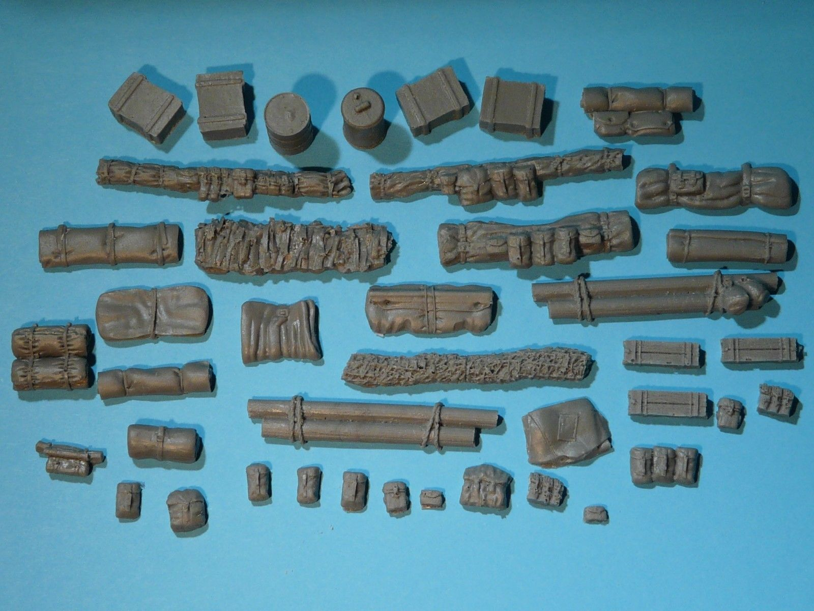 28mm Vehicle Stowage Set  WW2 Bolt Action / Tank War Games /28s - redoguk