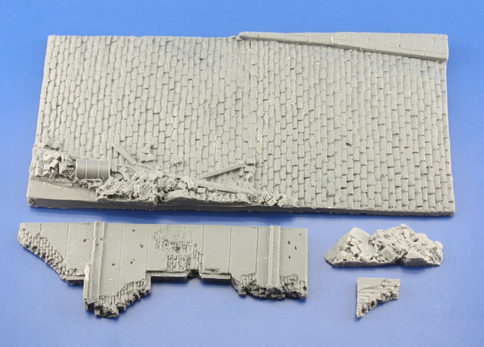 Redog 1/72/76 Street Ruins Scale Military Model Display Base/Small Diorama D15 - redoguk