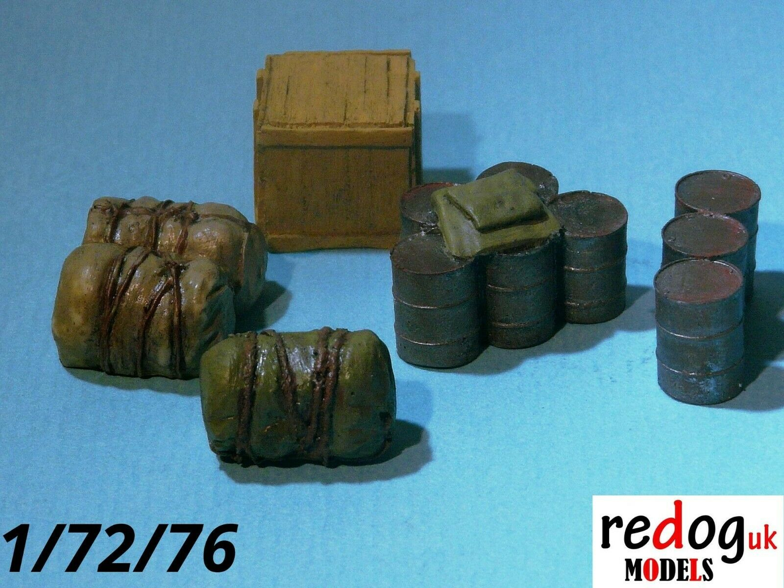 1/72 Vehicle Cargo Kit Military Scale Modelling Stowage Diorama Accessorises 3 - redoguk