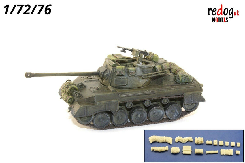 1/72 US M18 GMC Hellcat Tank Military Scale Model Stowage Kit Diorama Accessories - redoguk