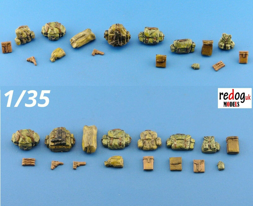 1/35 Bags and Guns Military Scale Modelling Kit Diorama Accessories Kit 14 - redoguk