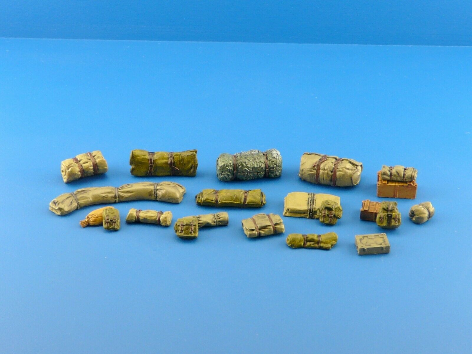 1/35  Military Scale Modelling Resin Stowage Diorama Accessories Kit 3 - redoguk