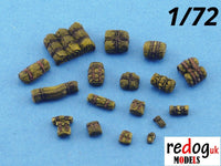 1:72 or 1:76 - Military Sacale Model Stowage Diorama Accessories Kit - redoguk