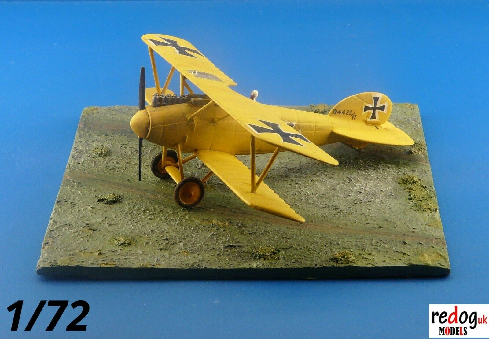 1/72 WWI Diorama Display Grass Field Base For Airplane Scale Models Kits D21 - redoguk