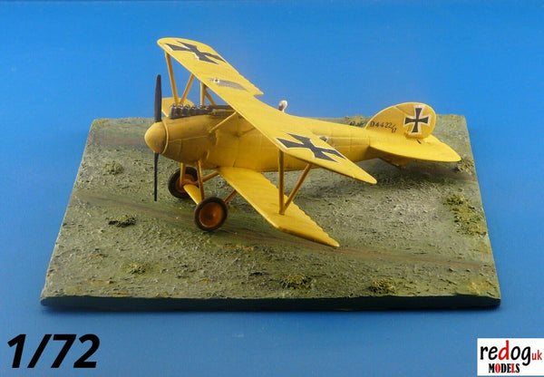 Redog 1/72 - WWI Diorama Display Grass field Base For Airplane Scale Models Kits /d21