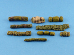 1/35 Military Stowage Masking Nets and Rolls - Scale Modelling Accessories Kit - redoguk