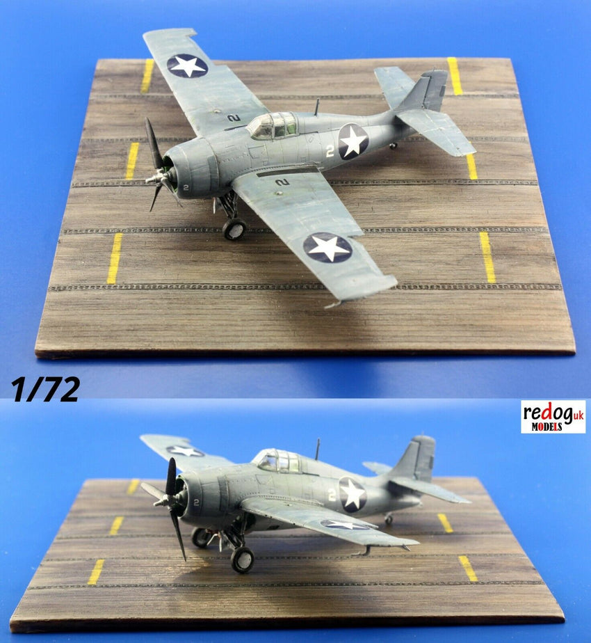Redog 1/72 US Carrier Deck for Aeroplanes Scale Model Display Base /D28 - redoguk