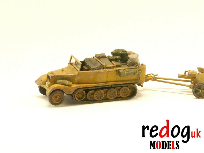 1:72 or 1:76 - Sd.Kfz.11 Half Truck Transporter  Military Sacale Model Stowage - redoguk
