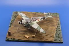 Redog 1/72 Wooden Planks Display Base For Airplanes Scale Models Kits D25 - redoguk