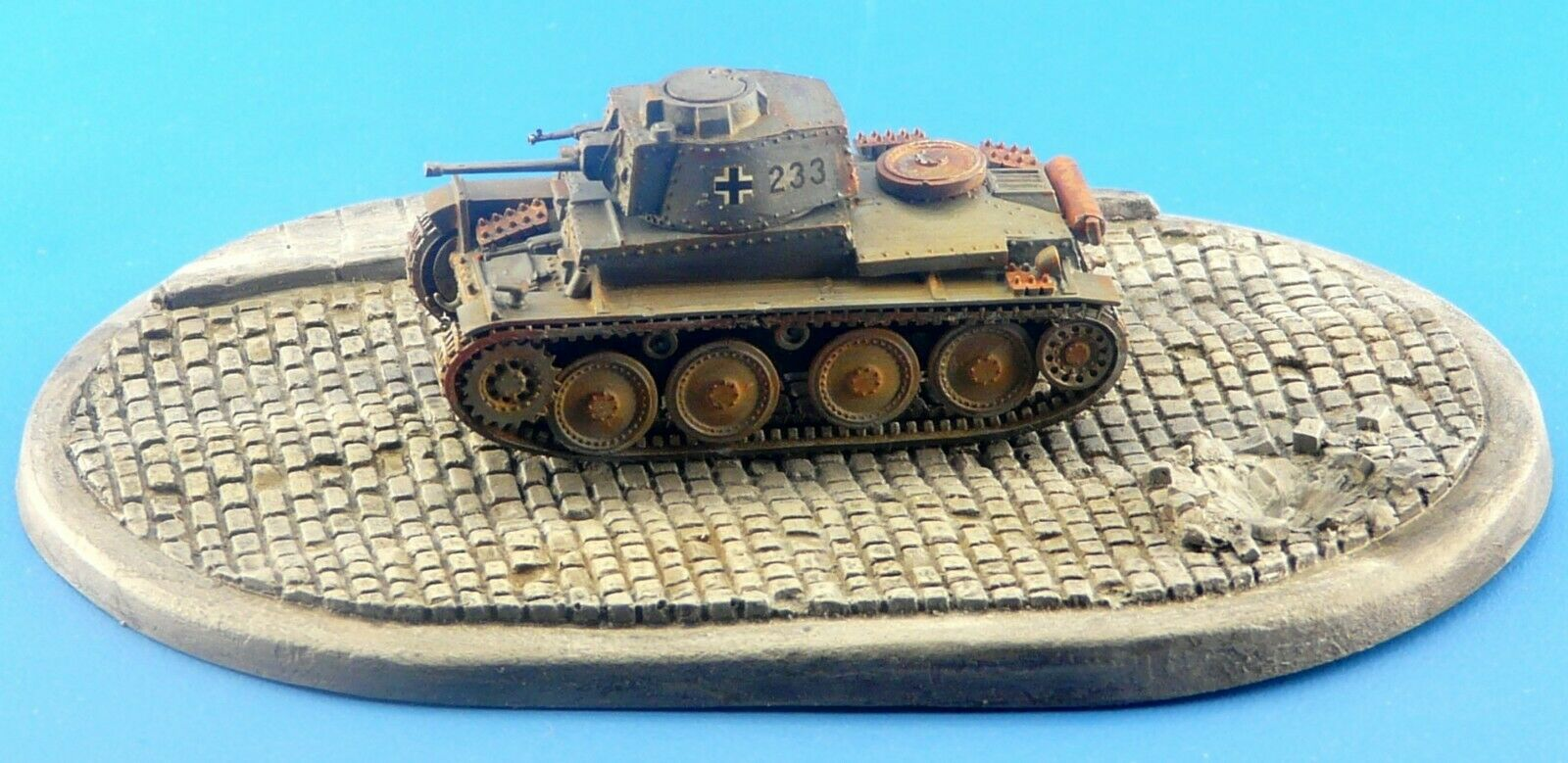 1/72 Smart Oval Diorama Display Base for Scale Model Tanks & Military Vehicles  D5 - redoguk