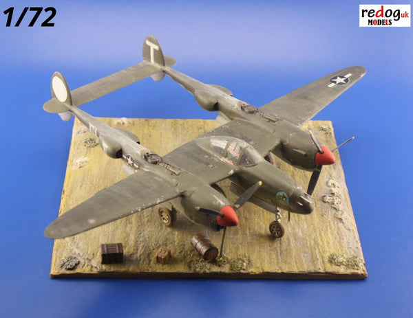 Redog 1/72 Desert Diorama Display Base For Airplane Scale Models Kits / d24