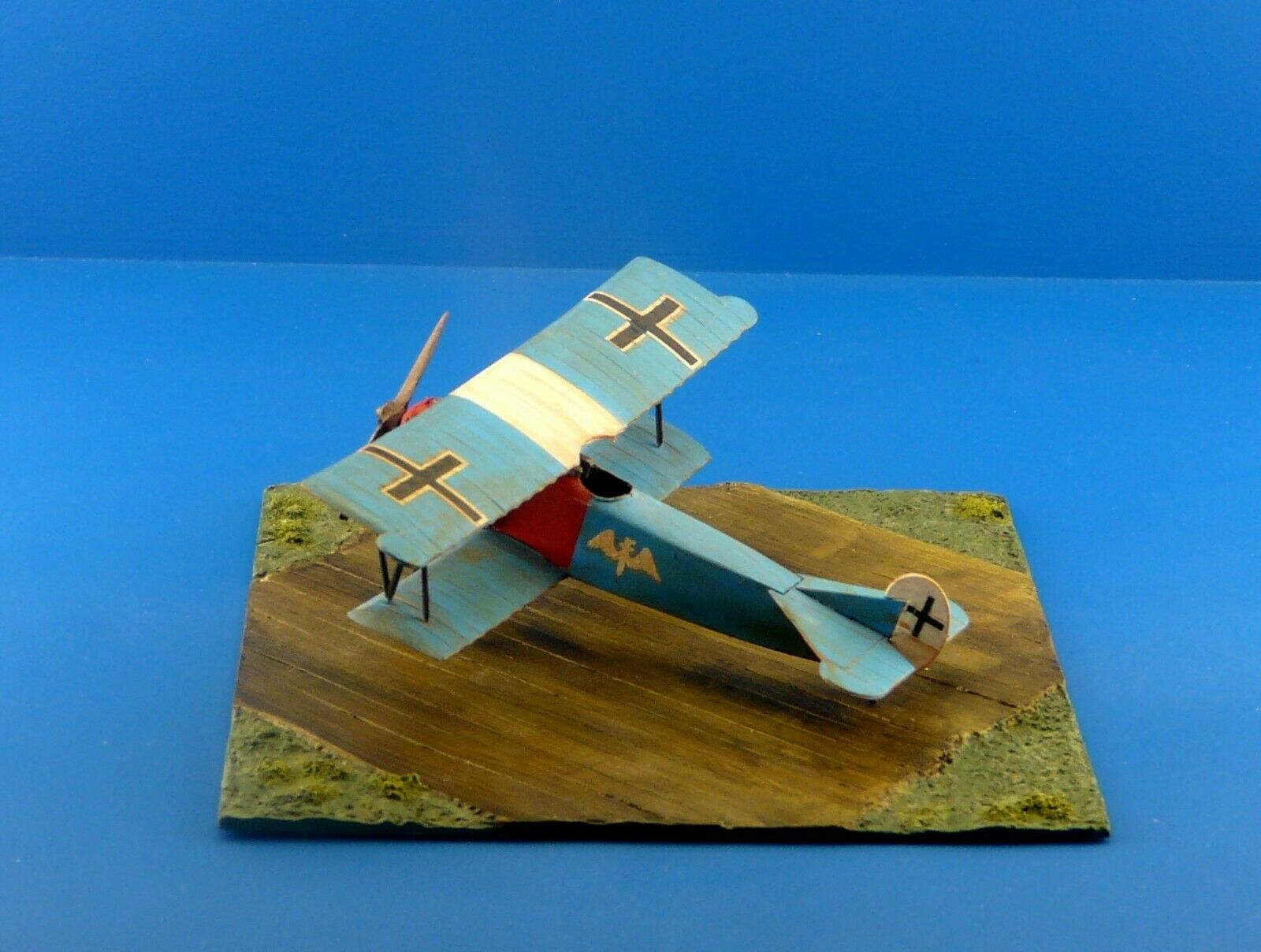 1/72 WWI Diorama Display Wooden Planks Airplane Scale Models Kits D20 - redoguk