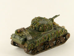 1:72 Sherman MK I Tank Scale Model Stowage and Hessian Camouflage Strips Kit /S3 - redoguk