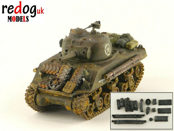 1:72 or 1:76 US M4 Sherman Military Scale Model Stowage Kit Accessories S1 - redoguk