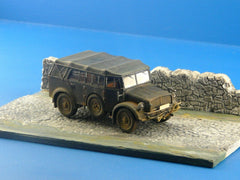 1/72 Stone Road & Wall Diorama Display Base For Military Scale Model Vehicles d6 - redoguk