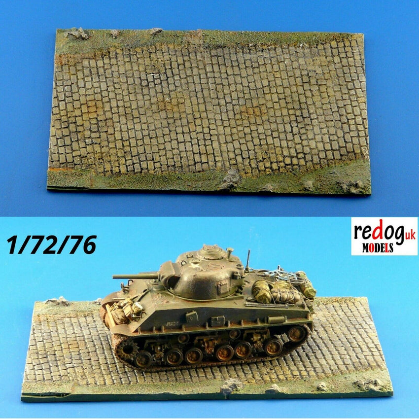 1/72 Diorama Display Base for Military Scale Model Tanks & Vehicles 1 - redoguk
