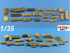 1/35 Military Scale Modelling Resin Stowage Kit Diorama Accessories Kit 6 - redoguk
