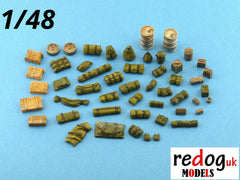 1:/48 Military Scale Modelling Resin Stowage Kit Diorama Accessories Kit 2 - redoguk