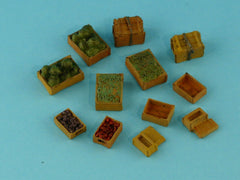 Redog 1:72:76 Food Supply Military Cargo Scale Modelling Stowage Diorama Accessorises - redoguk