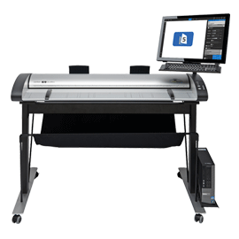 Contex IQ Quatro 4450 Wide Format Scanner 44 Inch Scan Station Pro