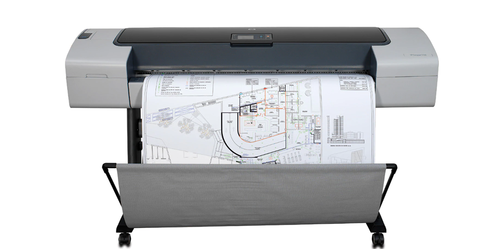 HP DesignJet T1100 Printer Center