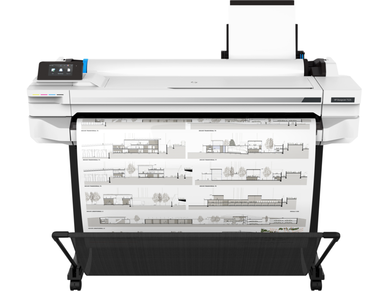 HP DesignJet T525 36 Inch Printer | 5ZY61A | Healtchare and Government Printer Bundle