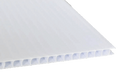 36 x 72 White Coroplast (4mm Fluted)