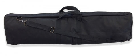 Multi-pocketed Bag Has Full Length-center Zipper. Length 40.
