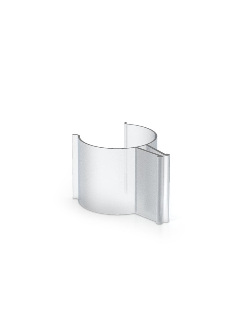 3/4 Inch Clear Pvc Mounting Clip (Set of 2)