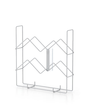 9 Inch x 1-1/2 Inch Wire Snap on Catalog Holder/ 1 1/2 Inch Diameter