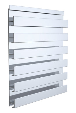 Slatwall Single Sided Panel, 48 x 12-1/4