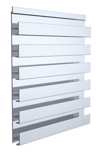 Slatwall Single Sided Panel, 24 x 18-1/4