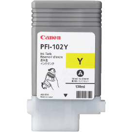Canon PFI-102Y Yellow Ink - 130ml | 0898B001AA