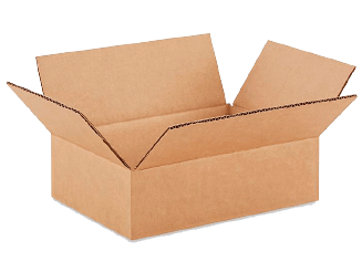 9 X 6 X 3 Corrugated Boxes (25/Bundle)