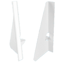 15 inch Single Wing Easel Backs - White