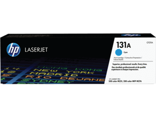 HP 131A Cyan Original Toner Cartridge | CF211A