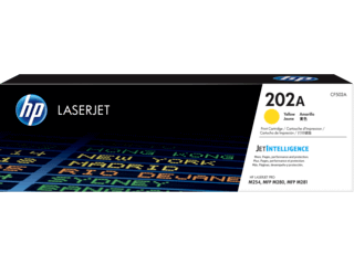 HP 202A Yellow Original Toner Cartridge | CF502A