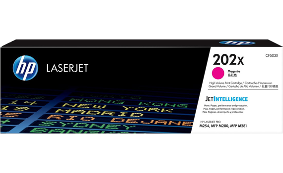 HP 202X High Yield Magenta Original Toner Cartridge | CF503X