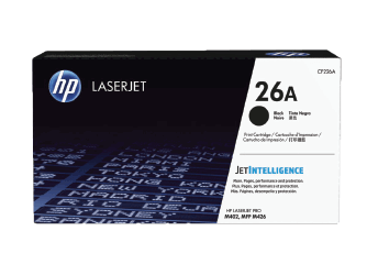 HP 26A Black Original Toner Cartridge | CF226A
