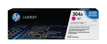 HP 304A Magenta Original LaserJet Toner Cartridge | CC533A
