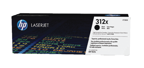 HP 312X High Yield Black Original Toner Cartridge | CF380X