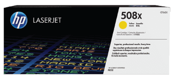 HP 508X High Yield Yellow Original Toner Cartridge | CF362X